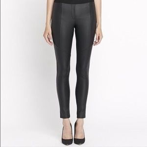Dynamite Half Faux Leather Pants